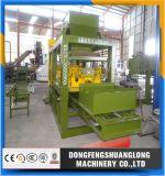 Máquina de fabricación de ladrillo sólido del cemento