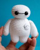 Bighero Baymax jouet en peluche tricot farcies de poupée
