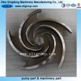 投資鋳造の炭素鋼または合金鋼鉄/Titanium/Stainless鋼鉄ポンプ部品