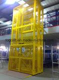 Elevadores industriais hidráulicos do vertical do armazém/plataforma elétrica do elevador