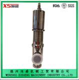 клапан отпуска безопасности нержавеющей стали Ss304 25.4mm санитарный гигиенический