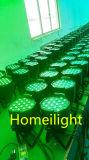 Haute puissance RGBW 3WX54 lampe étanche par disco dj Parti Stade de décoration lumière