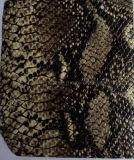 뱀 본 (H650126)를 가진 돼지 곡물 입히는 가죽