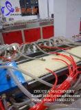 Máquinas de linha de extrusão / extrusão de painel decorativo de parede WPC mais recentes
