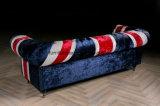 غلّة كرم [إلغنت ستل] [أونيون جك] بناء أريكة لأنّ يعيش غرفة