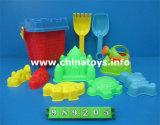 熱い販売の子供のプラスチック屋外のおもちゃの夏のおもちゃ浜はセットした(989203)