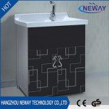 シンプルな設計の床のステンレス鋼の浴室の虚栄心