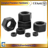 Les écrous hexagonaux noir en acier au carbone 934 DIN ISO 4032 Norme ANSI B 18.2.2