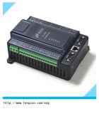 Controlador PLC barato chinês T-910 (8AI / 2AO / 12DI / 8DO) com 2 contadores de pulsos de alta velocidade