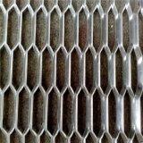 strato in espansione ricoperto PVC della rete metallica di spessore di 2mm