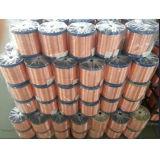 Fil d'aluminium plaqué de cuivre (CCA fil) -15Un-5.0-0.08mm mm