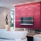 Mur décoratif acoustique 3D Conseil pour la salle de séjour TV Contexte