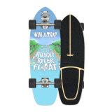 En Stock CX7 de alta calidad de la Junta de Skate Longboard Skate personalizado directo Surfskate para adultos