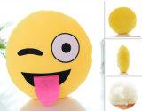 Het katoen Gevulde Stuk speelgoed van de Pluche van het Hoofdkussen 10inch Emoji