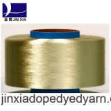 FDY 진한 액체에 의하여 염색되는 500d/96f 필라멘트 폴리에스테 털실