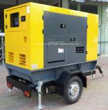 комплект генератора 40kw Cummins тепловозный с трейлером