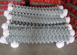Recinzione della rete metallica di collegamento Chain/rete metallica galvanizzate Caldo-Tuffate del diamante