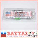 FTTH Sc/APC 0.9mm 섬유 광학적인 단일 모드 PLC 쪼개는 도구 1*2