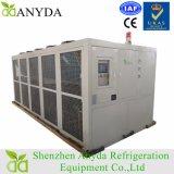 Sistema de refrigeração do refrigerador de água do parafuso de 100 toneladas ar industrial