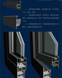 Doppia finestra di alluminio della stoffa per tendine della finestra di vetro