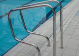 Corrimano durevole della piscina dell'acciaio inossidabile 304