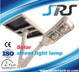 Tous dans un éclairage routier solaire de DEL avec le modèle neuf de RoHS de la CE (YZY-001)