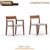 La vida moderna habitación Hotel Restaurante silla de comedor Muebles de madera