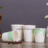 Taza de papel disponible caliente del café 8oz con las tapas