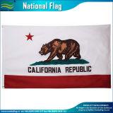 República de la bandera estatal de California Ca ESTADOS UNIDOS República oso bandera al aire libre (J-NF05F06002)