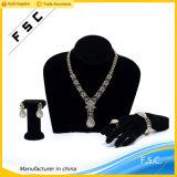宝石類の卸し売り中国の金の優雅な結婚式の宝石類は女の子のためにセットした