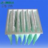 China-waschbarer mittlerer Leistungsfähigkeits-Beutel-Luftfilter-Hersteller