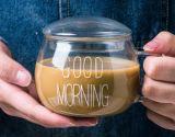 * Produto Ovo de borossilicato alta forma de chá e café de parede dupla de bebidas do Copo de vidro caneca