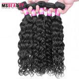 Het goedkope Maleise Haar van de Golf behandelt de Uitbreiding van de Bundels van het Menselijke Haar