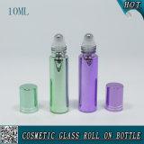10ml galvanisierte Glasrolle auf Flasche mit Aluminiumschutzkappe