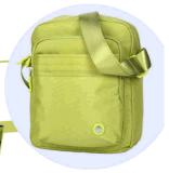 サテンの女性余暇はバックパックの縦セクションショルダー・バッグの男性の斜めの十字のパッケージ袋のパッケージを遊ばす