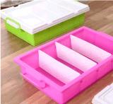Produtos de plástico de alta qualidade 25L Underbed Caixa de armazenamento de plástico caixa de sapatos de caixa de oferta Caixa de brinquedos com rodas