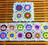 Coussin à fleurs en crochet tricotés à la main décoratif à la mode Nouveau design
