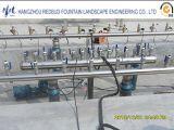 Труба водопровода PVC пластичная для пользы фонтана нот