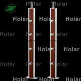 Barandilla del acero inoxidable de Holar para la barandilla de la escalera