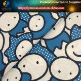 tessuto di stampa di trasferimento del fumetto del tessuto di seta naturale del poliestere 320t per l'indumento del capretto