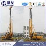 Plate-forme de forage rotatoire hydraulique de Hf856A, équipement d'empilage
