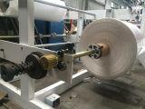 Vier Zeile Plastiknahrungsmittelbeutel, der Maschine herstellt