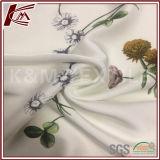 Modèle de chrysanthème Imprimer 100% viscose tissu crêpe