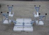 옥외 야영을%s 휴대용 접의자와 의자 세트