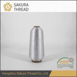 Hohe Hartnäckigkeit-metallisches Stickerei-Gewinde für Tuch-Material-Gewebe
