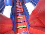 娯楽はもてあそぶ販売(T4-131)のための膨脹可能な二重車線の乾燥したスライドを