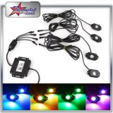 4/6/8/12 Kit Pods Bluetooth Control RGB LED Rock Light