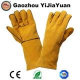 Ce EN12477, защита из натуральной кожи ручной сварки вещевого ящика с кевлара поток