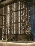 Panneau de mur décoratif d'acier inoxydable, écran de partition de mur avec la couleur et modèle