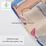 Hochwertige gedruckte dickflüssige Form-Dame Scarf des Schal-2017